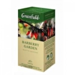 Чай Greenfield Barberry garden черн. 25 пак/пач