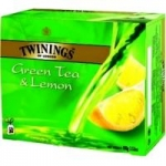 Чай Twinings Green tea & Lemon зел. 50пак/пач